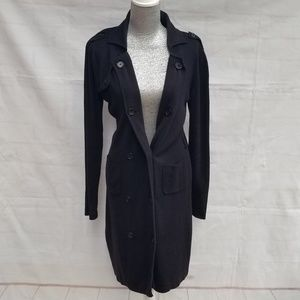 Cabi Style 164 French Trench Knit Sweater Coat